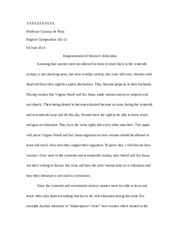 ENGLISH 102 PAPER #3 .docx