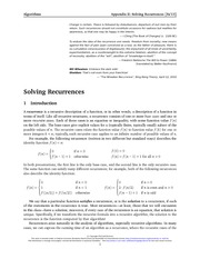 99-recurrences