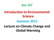 15. ARK-Climate change and Global Warming