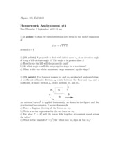 Physics 325 Homework 1