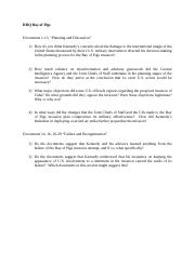Bay of Pigs Document Questions (1)
