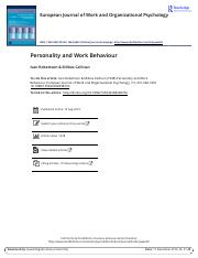 [17]-Personality and Work Behaviour.pdf