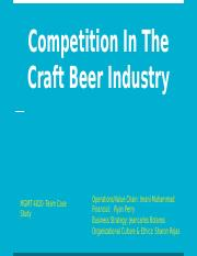 Competition In The Craft Beer Industry_ Team Case Study.pptx