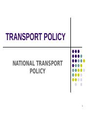 Lesson 4 National Transport Policy 300920.ppt