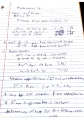 Electrochemical Notes