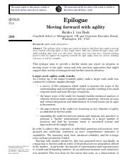 Epilogue - Moving forward with agility.pdf