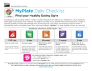 Meal Plan - My Daily Food Plan Worksheet Check how you did today ...