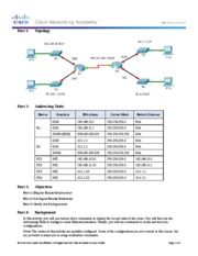 6.4.3.3 Packet Tracer - Connect a Router to a LAN Instructions