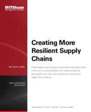 Creating More Resilient Supply Chain