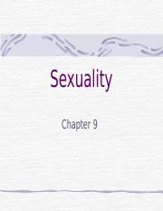 Chapter 9 - Sexuality.ppt