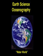 Lecture 1 - Oceanography Introduction(1)