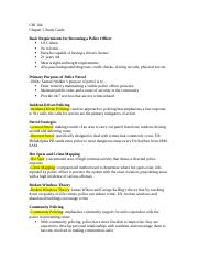 CRJ Chapter 5 Quiz Study Guide.docx