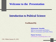 Introduction to Political Science-1