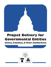 Project Delivery for Goverment Entities