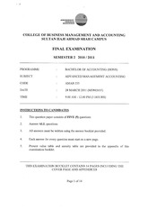 28.AMAB333-ADVANCED MANAGEMENT ACCOUNTING