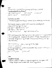Chemistry Lecture 8 Notes