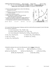 Chem 6B_W12 - Practice Exam 2-1 extended version