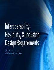 Topic 06 - Interoperability, Flexibility, & Industrial Design Requirements.pdf