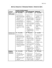 Article Analysis 3 Grading Rubric(2).docx