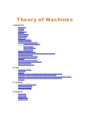 3. Theory of Machines  by S K Mondal