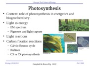 B151xF08_L25Photosynthesis-ts