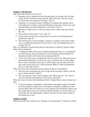 Theater Study Guide