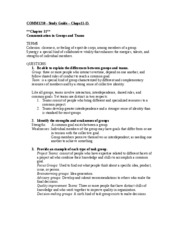 COMM1210 11-15 study guide-1