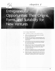 Chapter2EntrepreneurialOpportunitiesTheirOrigins,Form...