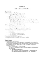 Lecture Notes - CH14