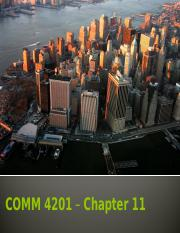 COMM4201 Chapter 11.pptx