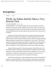Winters_ An Italian Satirist Takes a Very Serious Turn - The New York Times.pdf