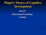 PSY377 Piaget student version