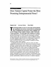 Does Venture Capital Foster the Most Promising Entrepreneurial Firms.pdf