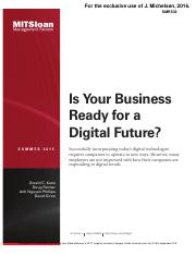 Is Your Business Reday For a Digital Future