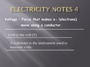 Electricity Notes 4