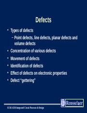 3-defects