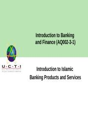 Lecture 8_ IntrIoduction to Islamic Banking and Finance.pptx