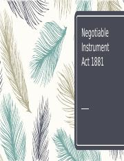Negotiable Instrument Act 1881.pptx