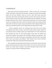 Contoh Esei Tokoh Docx 1 0 Pengenalan Dalam Bahasa Arab Imam Bermaksud Pemimpin Dalam Erti Bahasa Pula Imam Adalah Individu Yang Dilantik Yang Course Hero