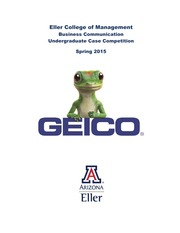 GEICO Case Study and Requirements_Spring 2015
