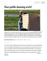 Does public shaming work_ - The Boston Globe.pdf