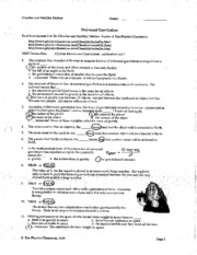 Worksheets Law Of Universal Gravitation Worksheet universal gravitation quiz