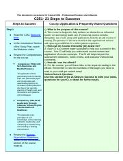 C351 21 Steps to Success - Copy yw docx - This documenT is a