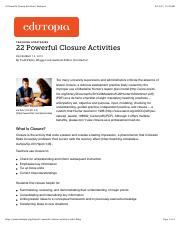 22 Powerful Closure Activities | Edutopia.pdf