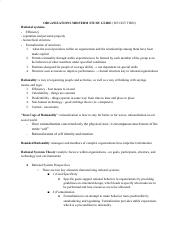 Organizations & Management Midterm Study Guide.pdf
