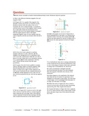 Physics for Scientists and Engineers 8ed - ch31 - end of chapter questions