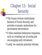 ch13 social securities.ppt