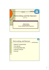 IS 414 - Lecture 8 (Networking&Internet)