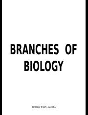 Branches of biology-2.ppt