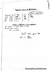Regression Version of Anova Notes
